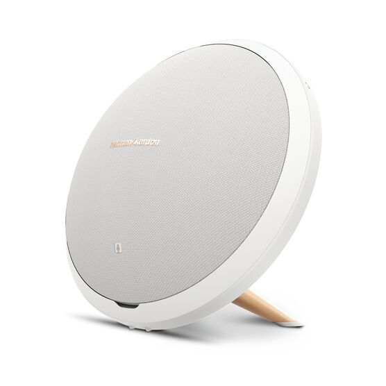 Onyx Studio 2 - White - Wireless Speaker System with rechargeable battery and built-in microphone - Front