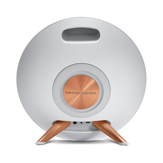 Onyx Studio 2 - White - Wireless Speaker System with rechargeable battery and built-in microphone - Back