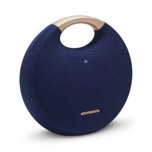 Onyx Studio 5 - Blue - Portable Bluetooth Speaker - Hero