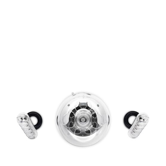 SoundSticks III - Clear - Three-piece, 2.1-channel multimedia sound system - Detailshot 3