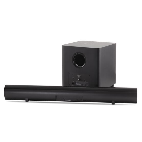SB 26 - Black - Advanced Soundbar with Bluetooth® and powered wireless subwoofer - Detailshot 1