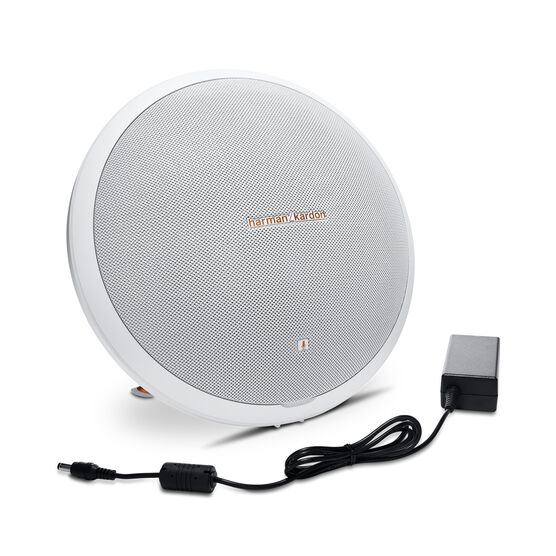 Onyx Studio 2 - White - Wireless Speaker System with rechargeable battery and built-in microphone - Detailshot 5