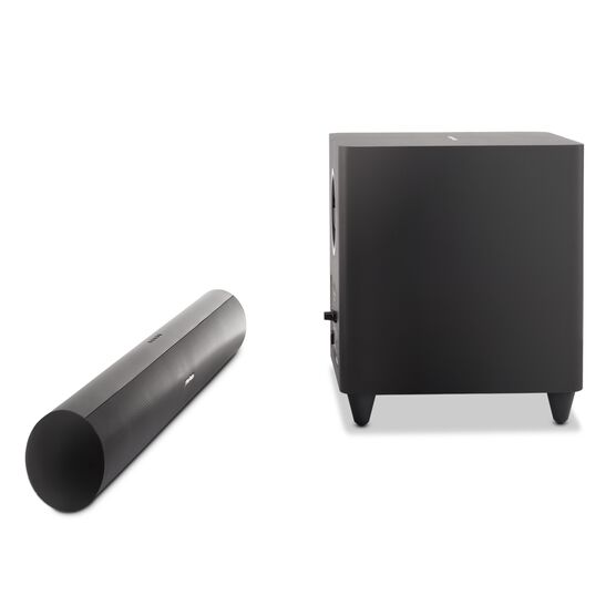 SB 26 - Black - Advanced Soundbar with Bluetooth® and powered wireless subwoofer - Detailshot 2