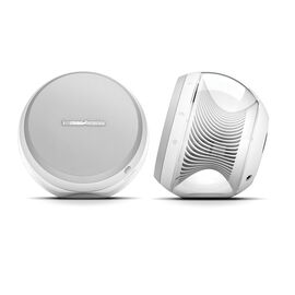 Nova - White - Wireless Stereo Speaker System - Hero