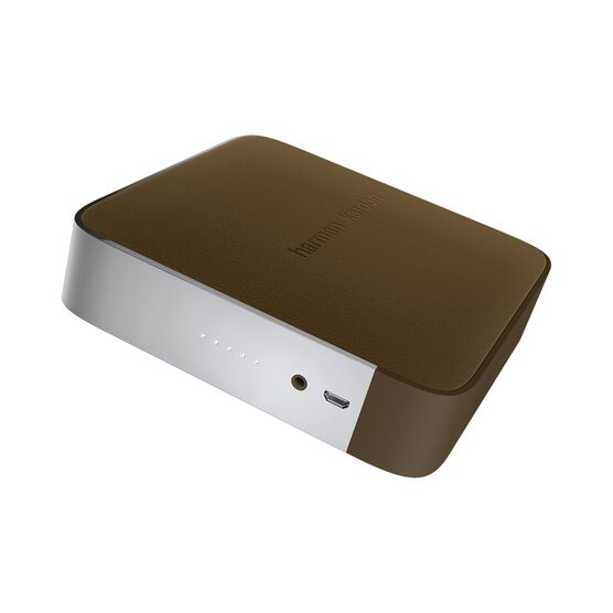 Esquire - Brown - Portable, wireless speaker and conferencing system - Detailshot 2