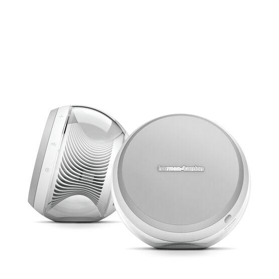 Nova - White - Wireless Stereo Speaker System - Detailshot 3