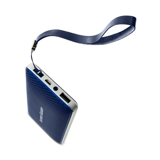 Esquire Mini - Blue - Wireless, portable speaker and conferencing system - Detailshot 3