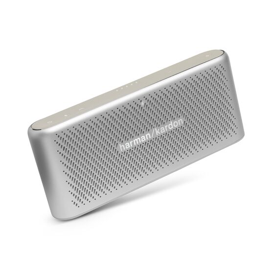 Traveler - Silver - All-in-one travel speaker - Hero
