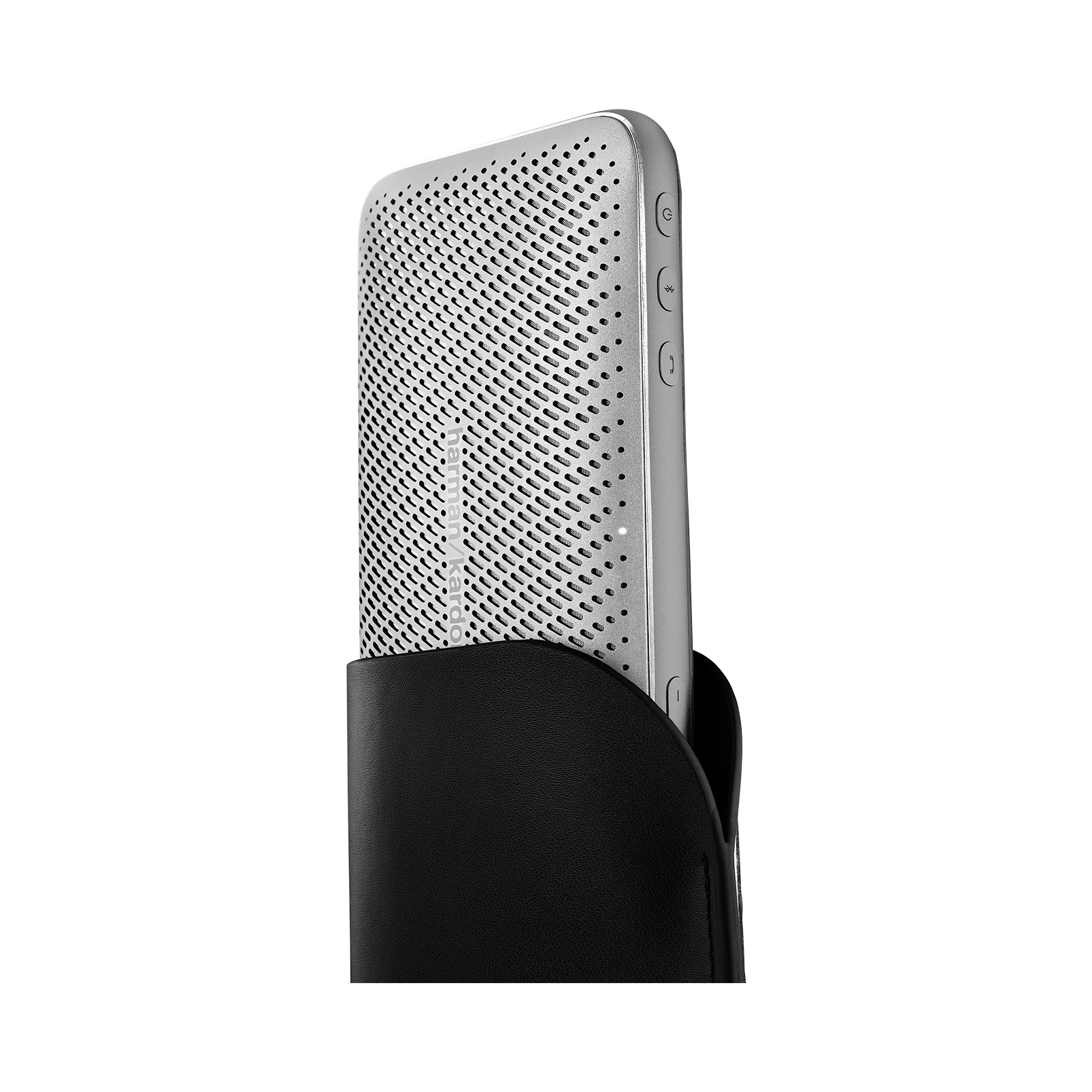 Harman Kardon Esquire Mini 2 - Silver - Ultra-slim and portable premium Bluetooth Speaker - Detailshot 1