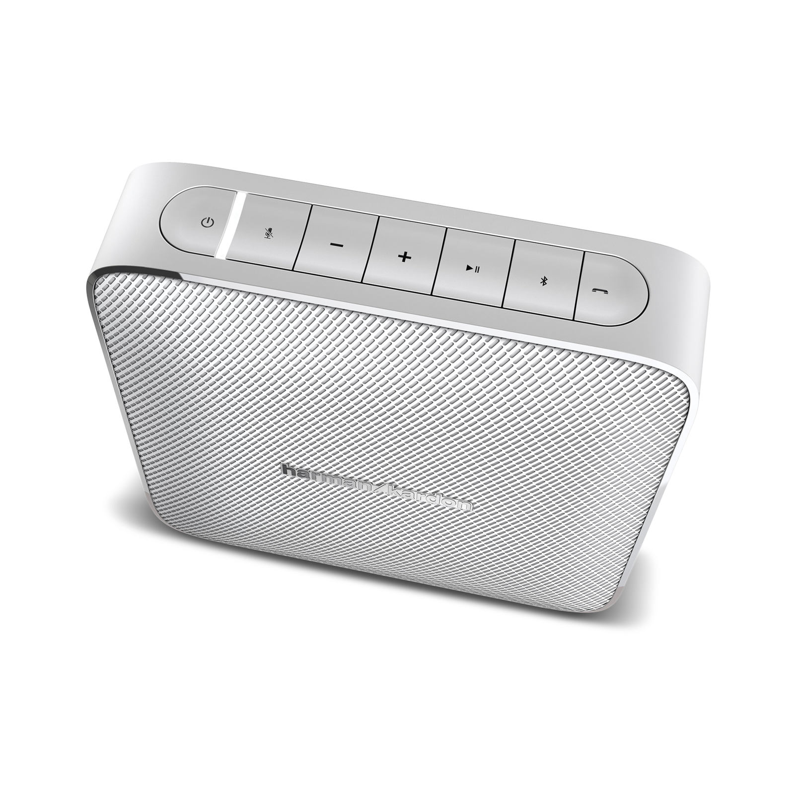 Esquire - White - Portable, wireless speaker and conferencing system - Detailshot 1