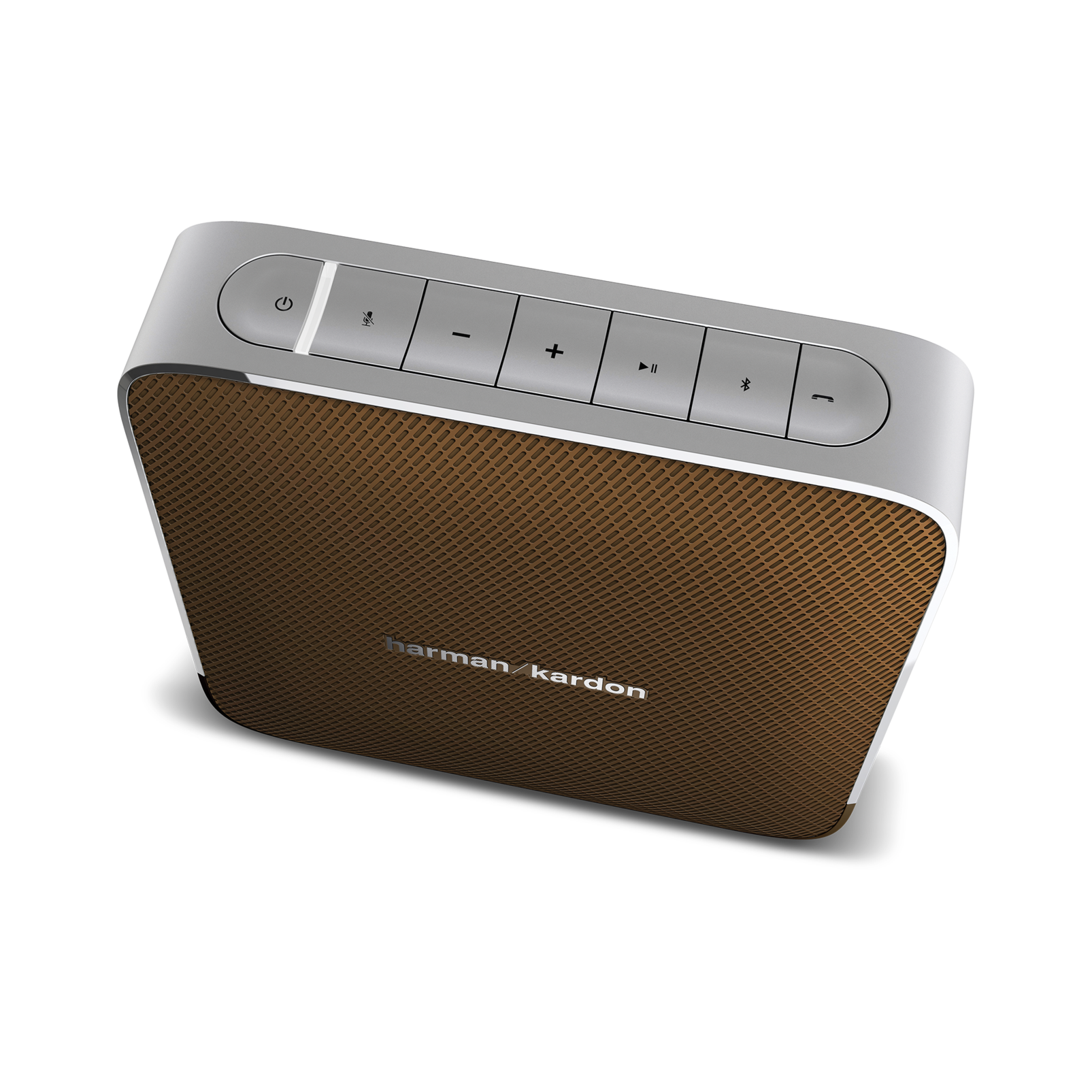 Esquire - Brown - Portable, wireless speaker and conferencing system - Detailshot 1