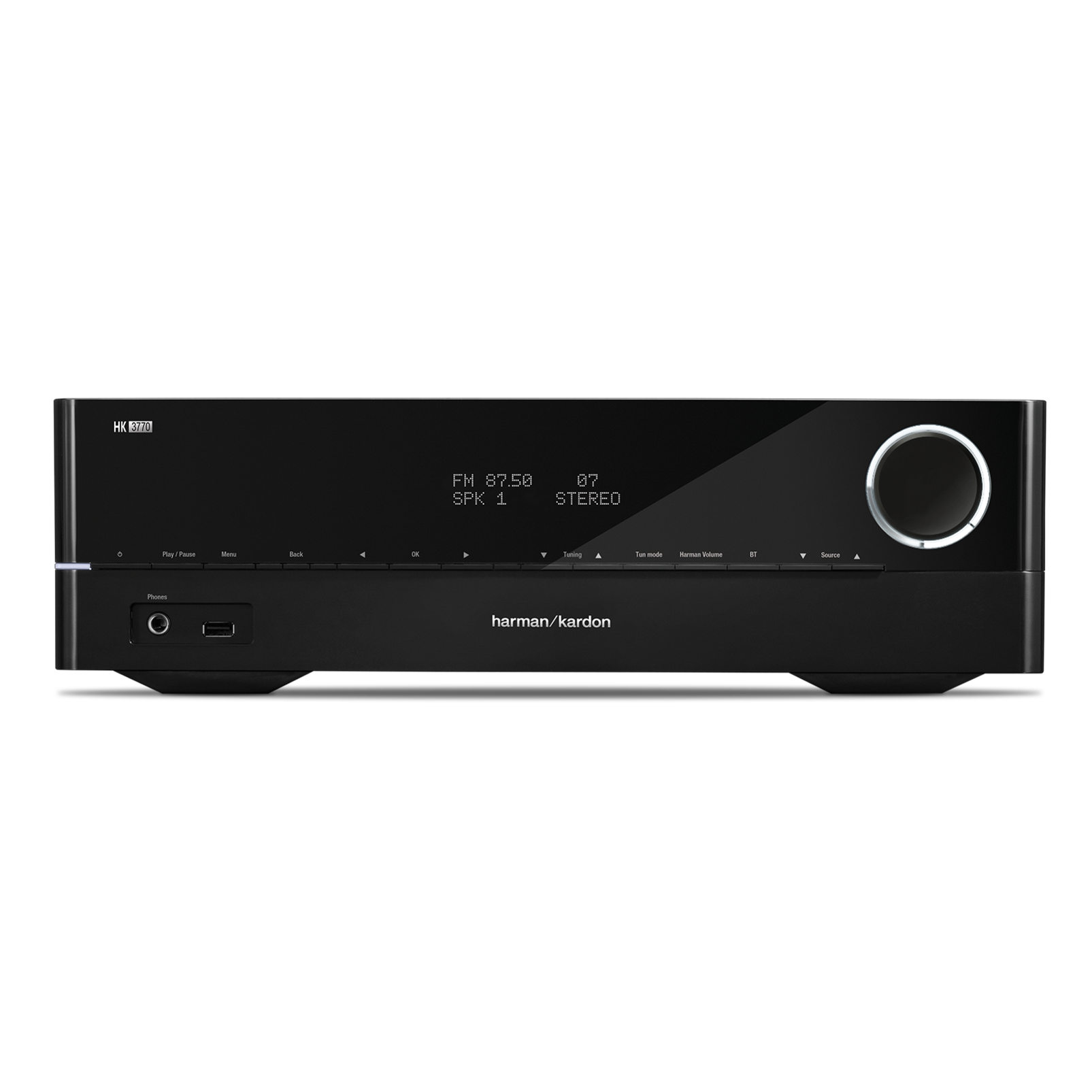 HK 3770 - Black - 240 watt stereo receiver with network connectivity - Hero