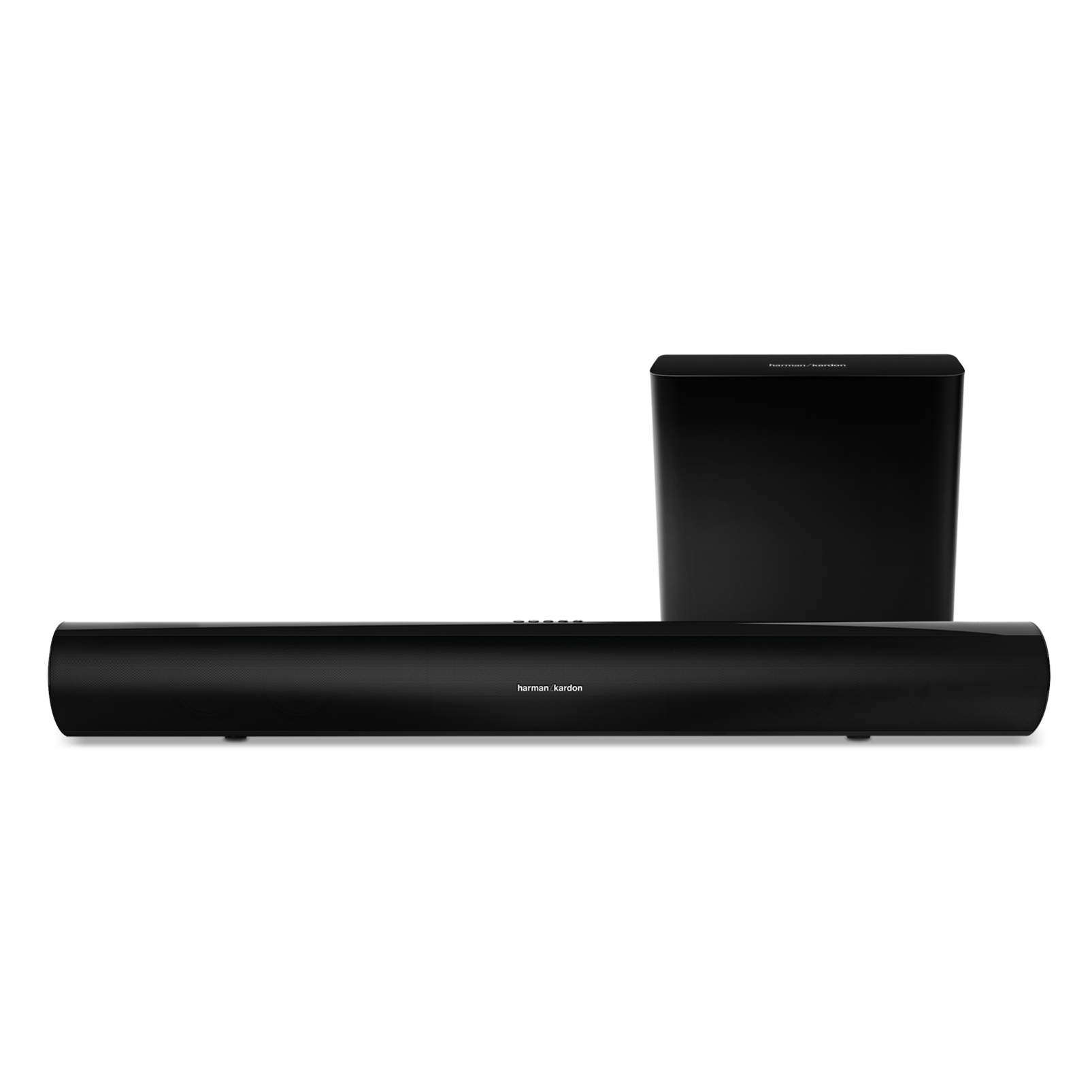 SB 26 - Black - Advanced Soundbar with Bluetooth® and powered wireless subwoofer - Hero