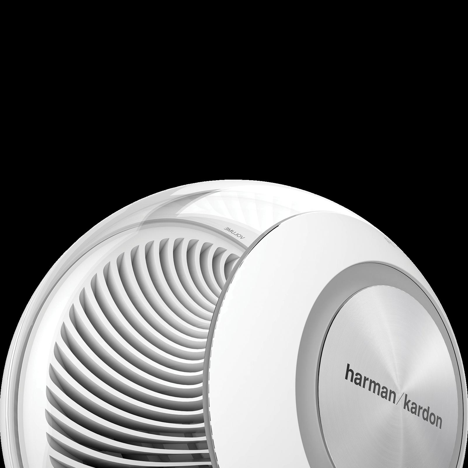 Nova - White - Wireless Stereo Speaker System - Back