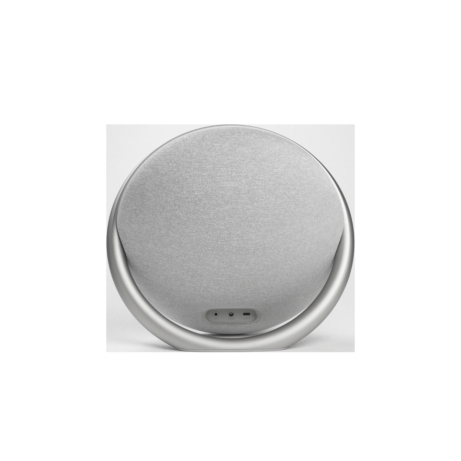 Onyx Studio 7 - Grey - Portable Stereo Bluetooth Speaker - Back