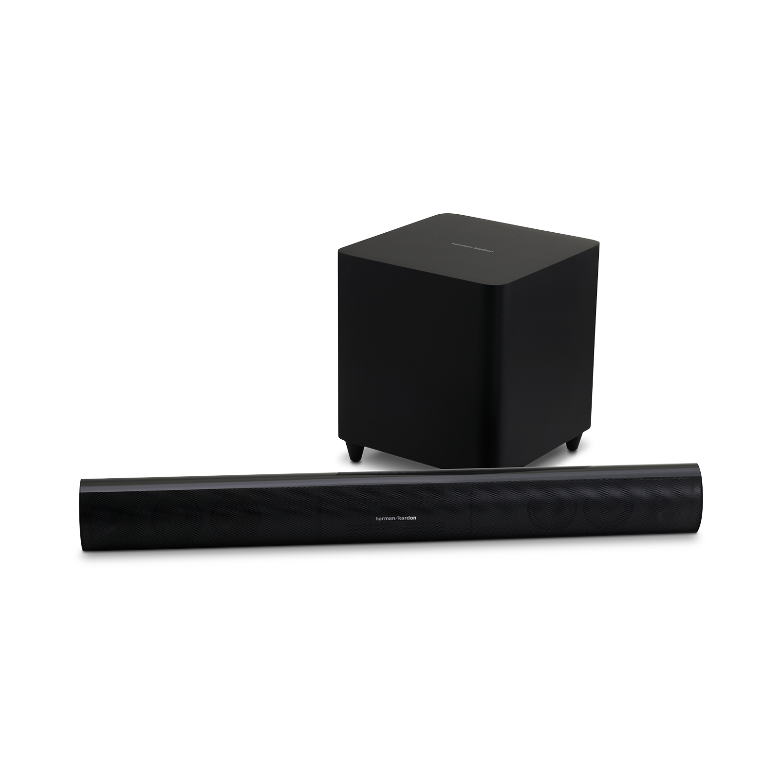 SB 26 - Black - Advanced Soundbar with Bluetooth® and powered wireless subwoofer - Left