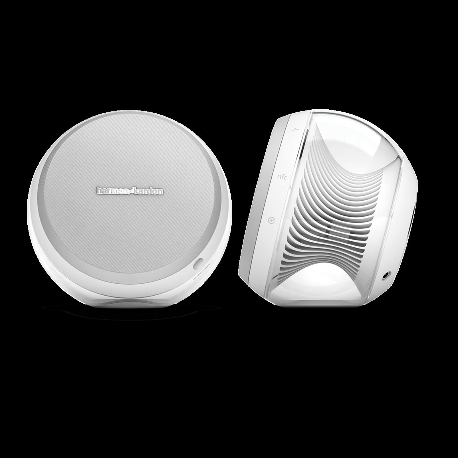 Nova - White - Wireless Stereo Speaker System - Hero