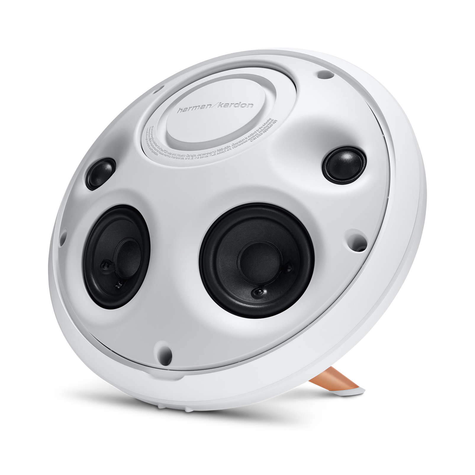 Onyx Studio 2 - White - Wireless Speaker System with rechargeable battery and built-in microphone - Detailshot 3